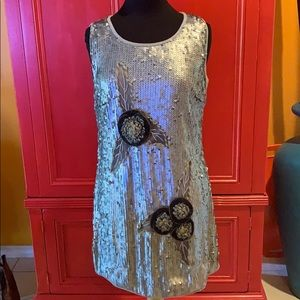 Anthropologie Dresses - NWOT Anthropology Lulumari sequin dress. Stunning!